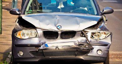 Autounfall BMW - Lackierung Unfallschaden