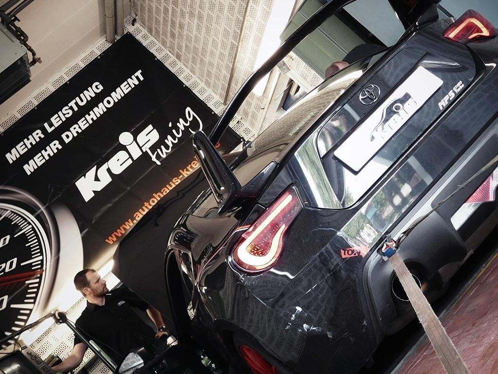 Kreis Tuning - Opel GT am Prüfstand
