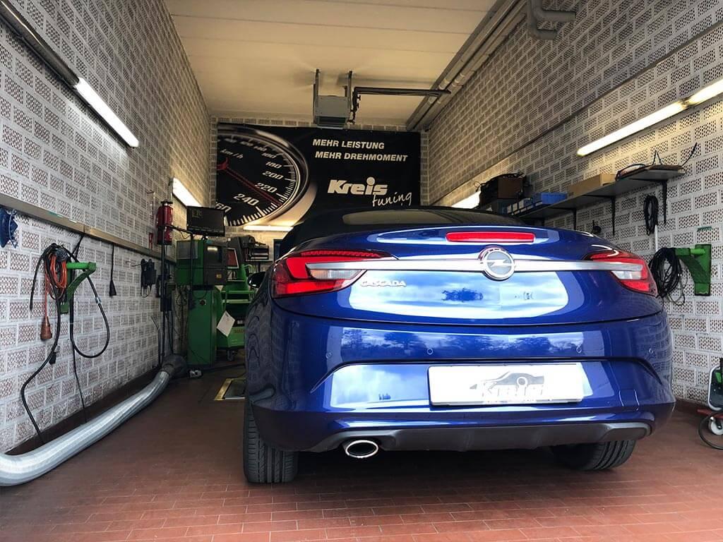 Kreis Tuning - Opel Cascada auf dem Prüfstand