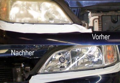 Autohaus Kreis - Service - Scheinwerfer Restauration